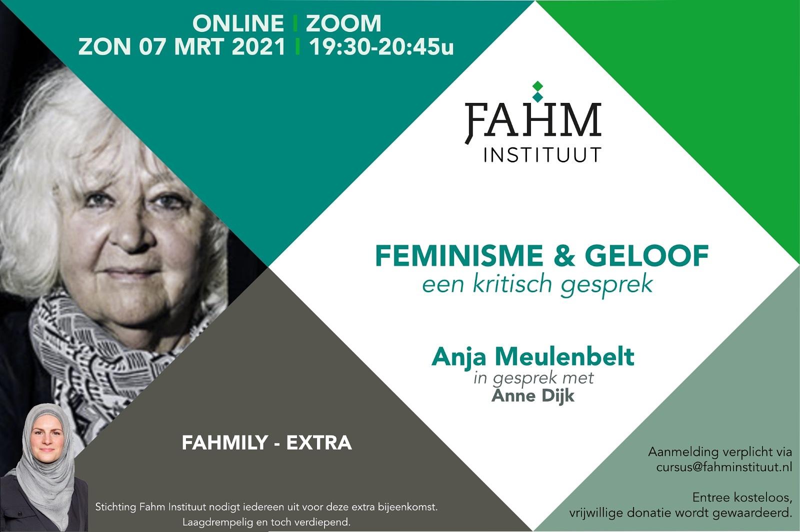 07-03-2021 Fahm-EXTRA Feminisme en geloof