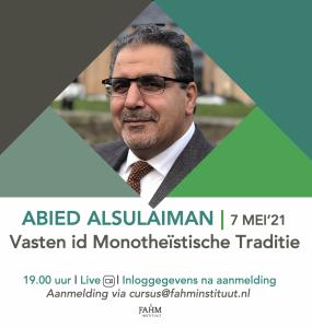 2021 Abied Alsulaiman Ramadan Fahm instituut