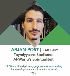 2021 Arjan Post Ramadan Fahm instituut